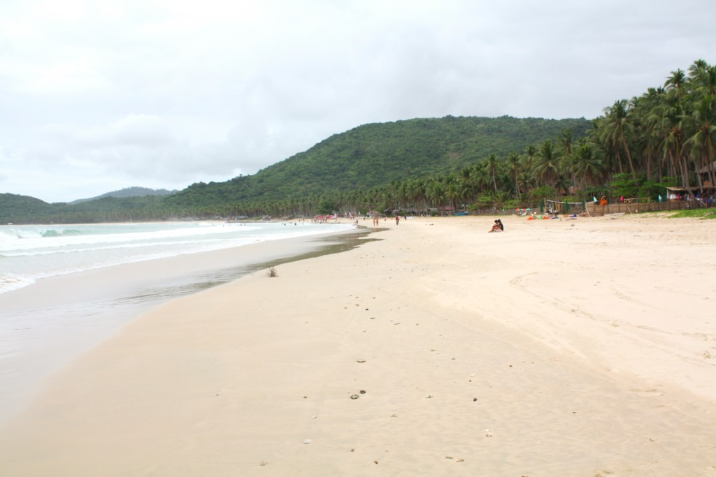 Nacpan Beach, Palawan, Filipiny